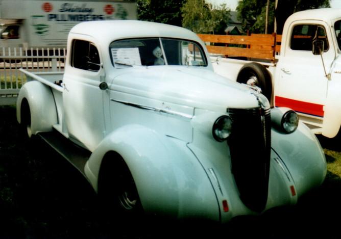 1937 Nash Lafayette custom pickup
