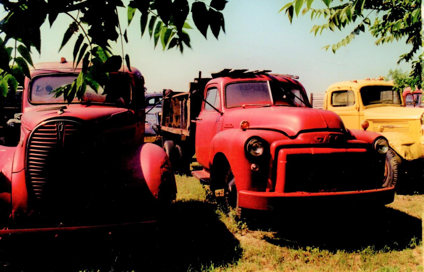 1938 Ford & 1948 GMC - Ron Bush