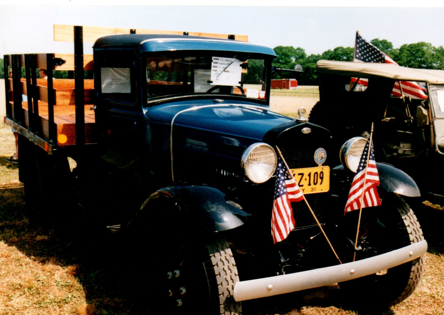 1931 Ford Model A stake bed