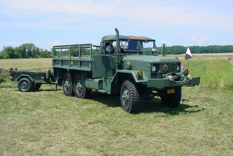 Drew Haagenson's 1971 AM General M35A2 cargo & trailer