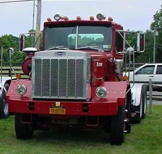 F. Paul Zebrowski's 1984 Autocar tractor