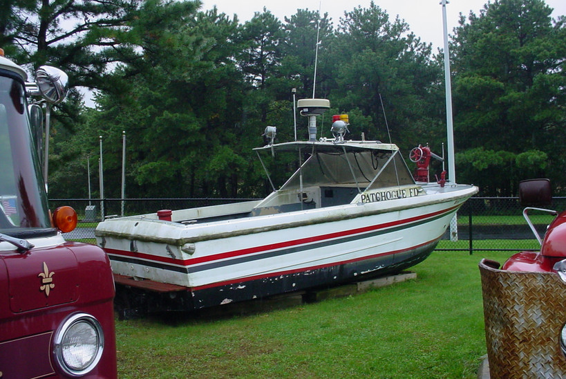 Former Patchogue F.D. fire boat