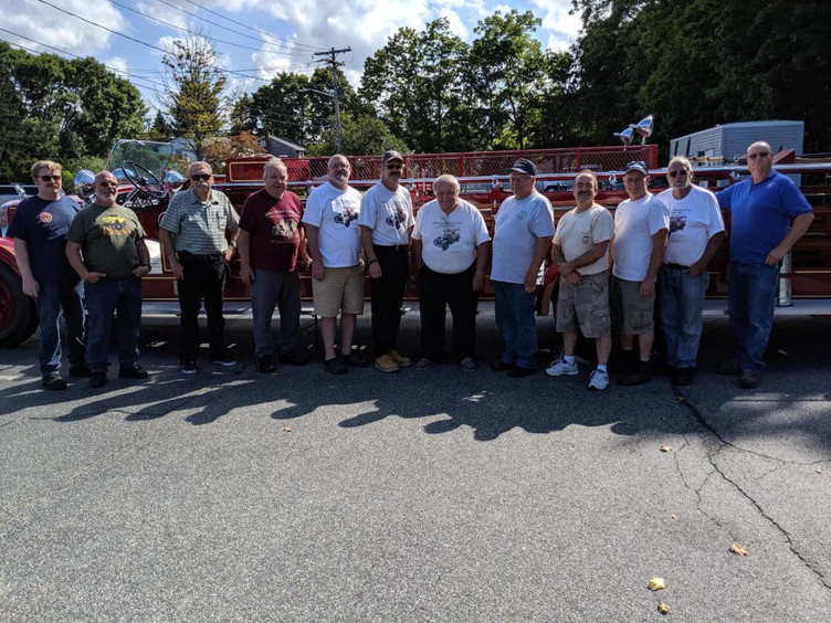 Group Photo at Smithtown F.D.
