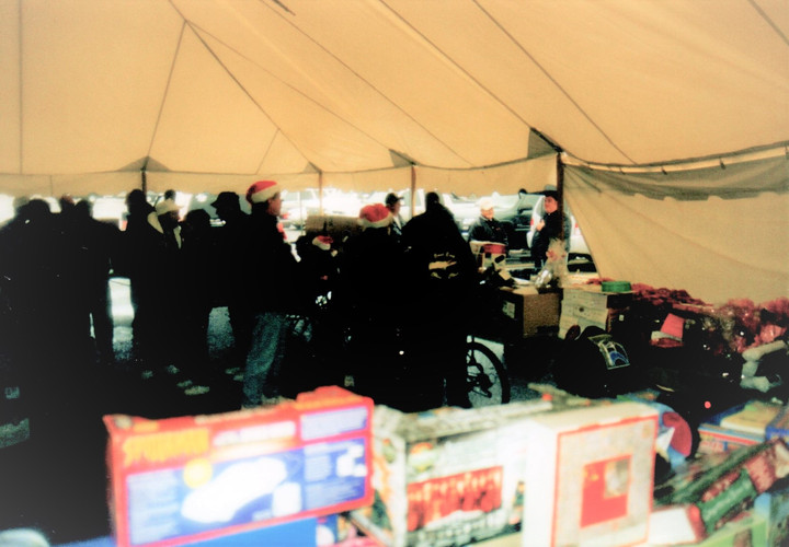 Toys and food donations
