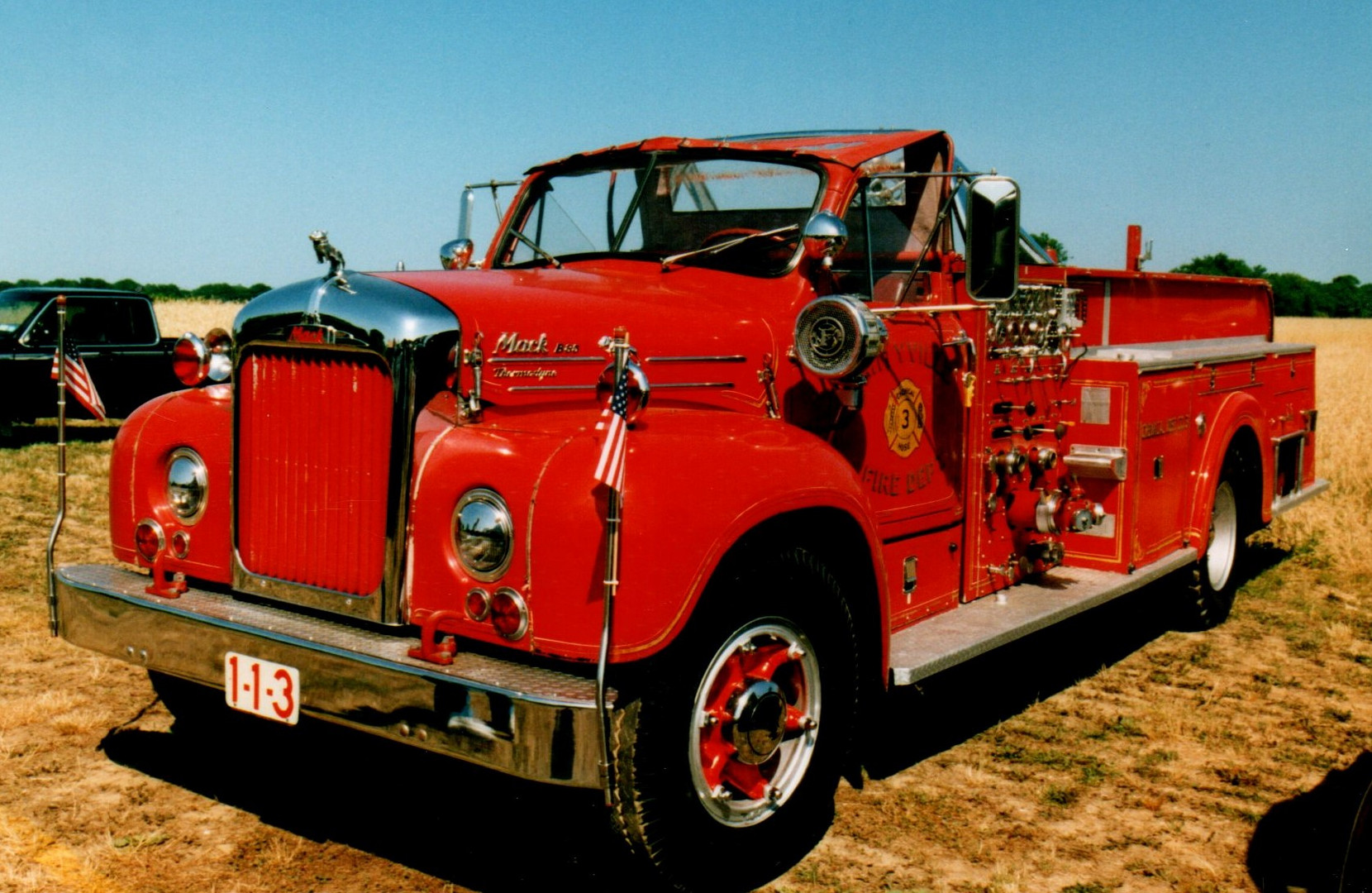 1957 Mack B-85 pumper - Chris McGrath