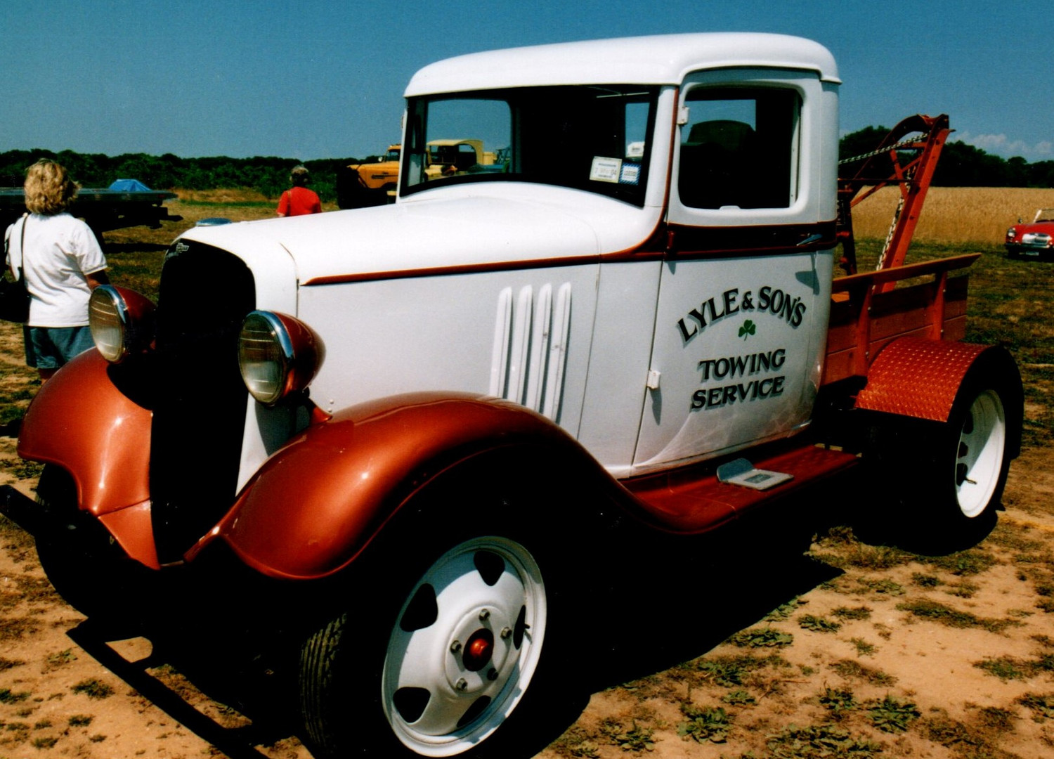 1933 Chevrolet wrecker