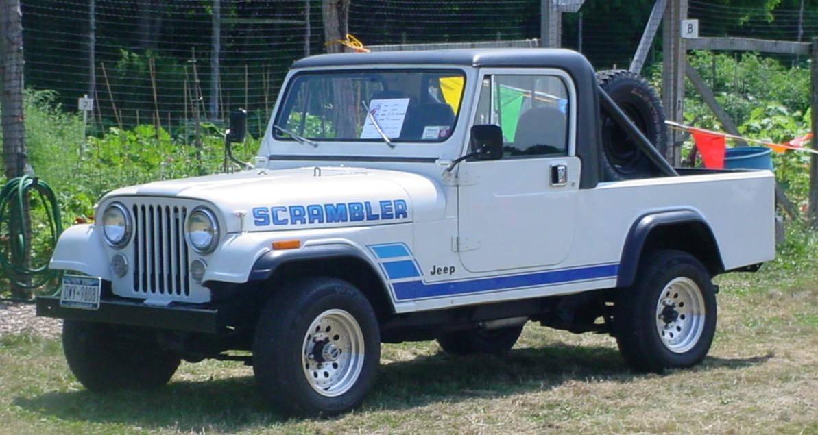 Philip Huntington's 1984 Jeep JC-8 Scrambler pickup