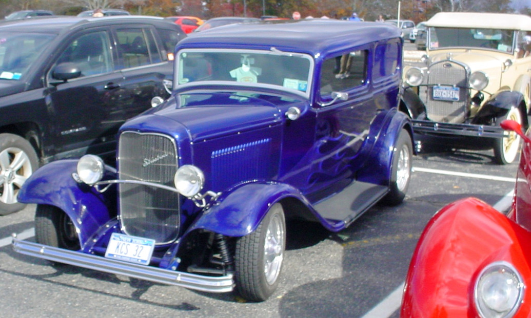 1932 Ford street rod & a 1930 Ford Model A