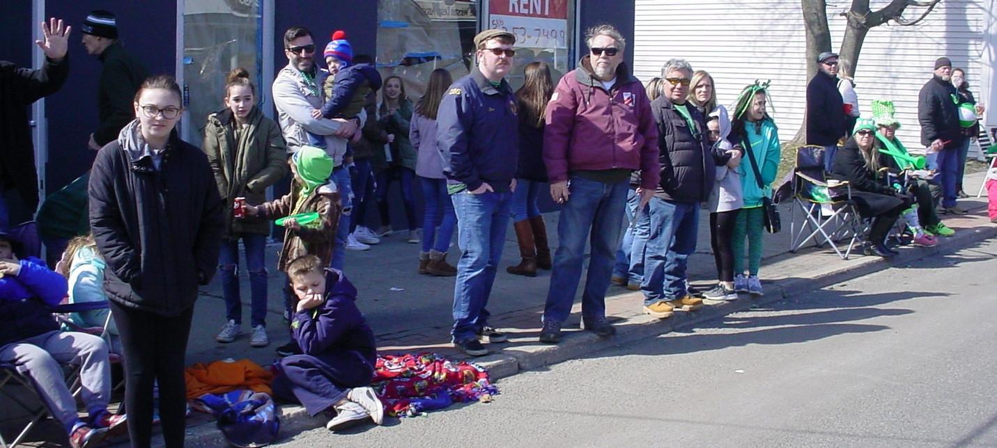 Denis & Dan Ryan viewing the parade