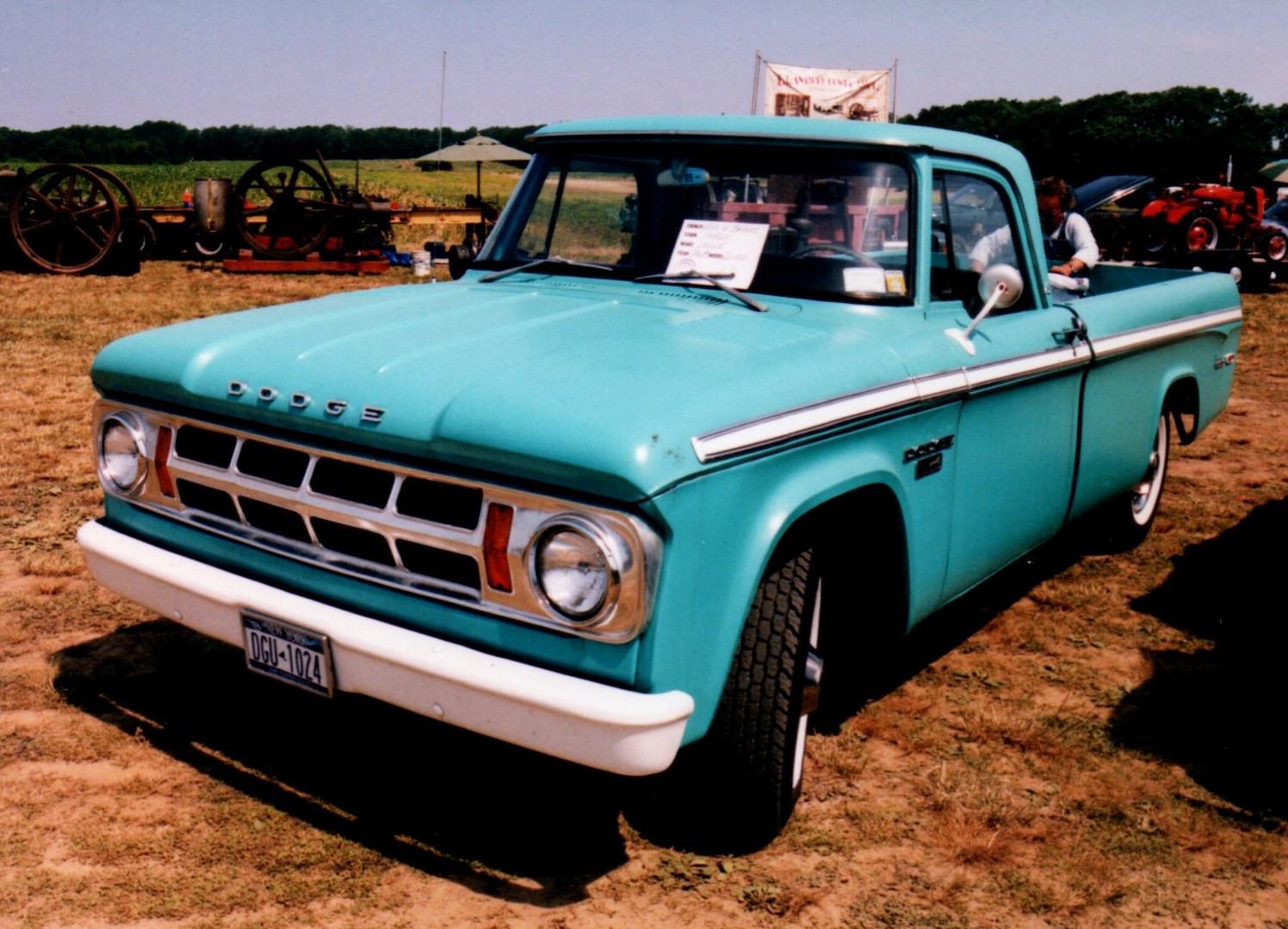 1968 Dodge D-100 pickup