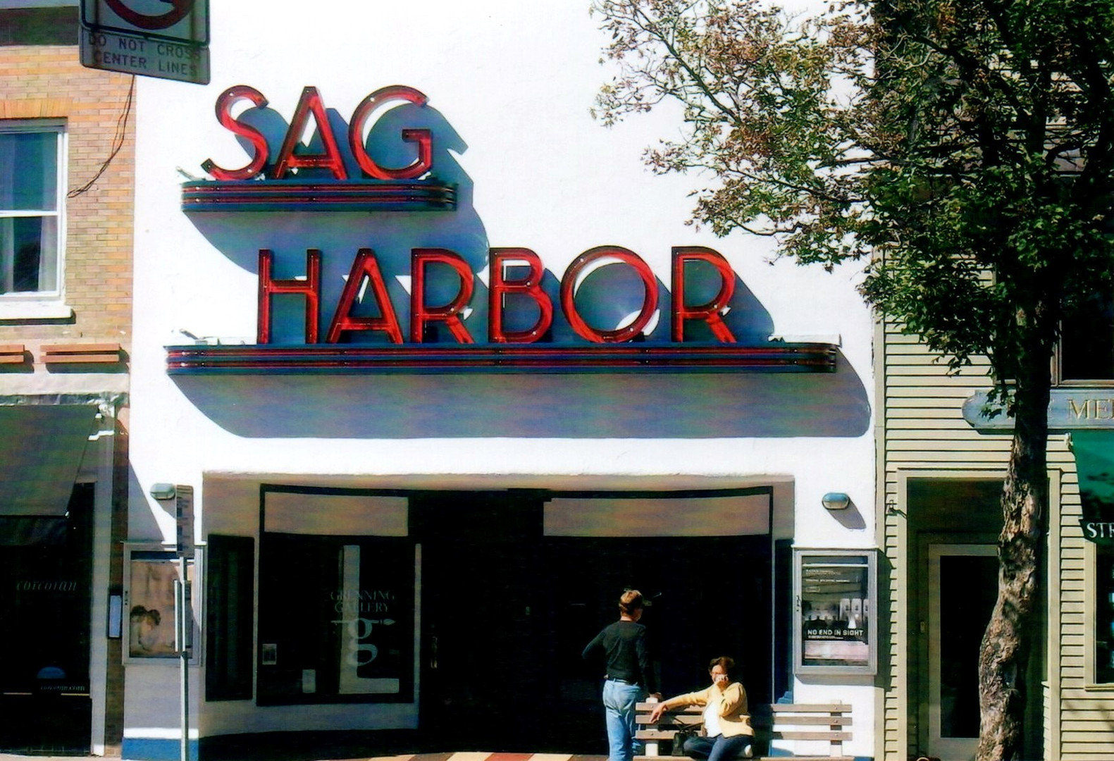 Lunch in Sag Harbor