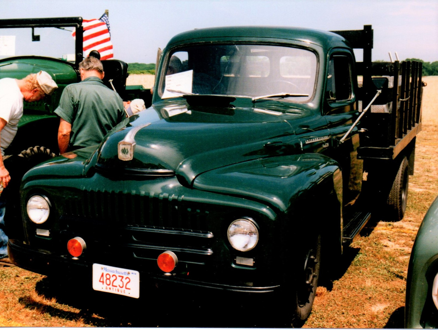 1951 International L-130 stake bed from Massachusetts