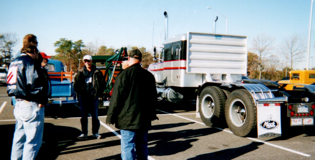 Members at Food & Toy Drive Show