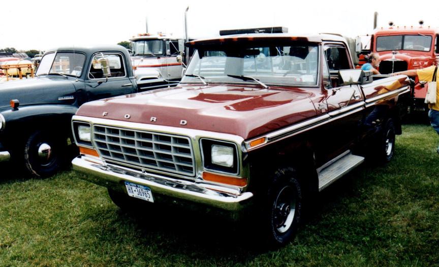 Bob Fraser's 1979 Ford pickup