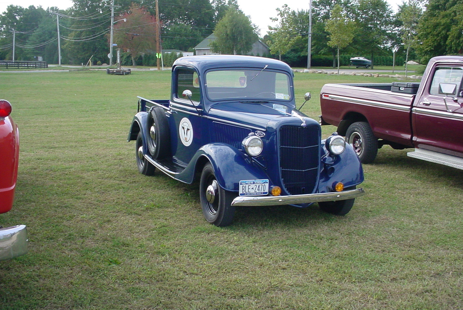 Floyd Chivvis' 1936 Ford pickup