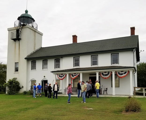 First stop - the 1857 Horton Point Lighthouse in Southold