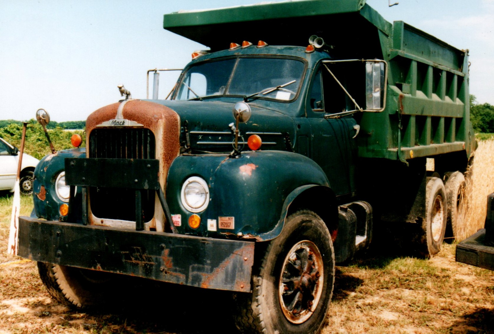 1965 Mack B-61 dump - Steve Wolbert