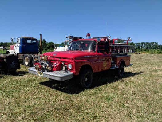 1962 Ford fire engine from New Jersey - Bill Wagner