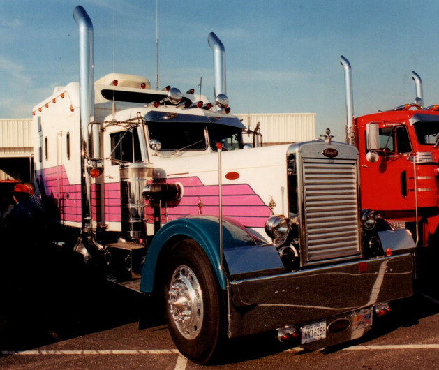 TS Haulers 1966 Peterbilt tractor