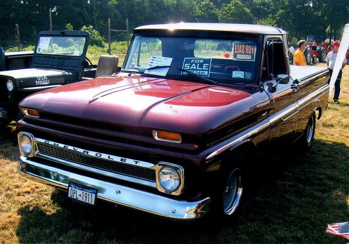 1964 Chevrolet C-10 pickup - Glenn Gray