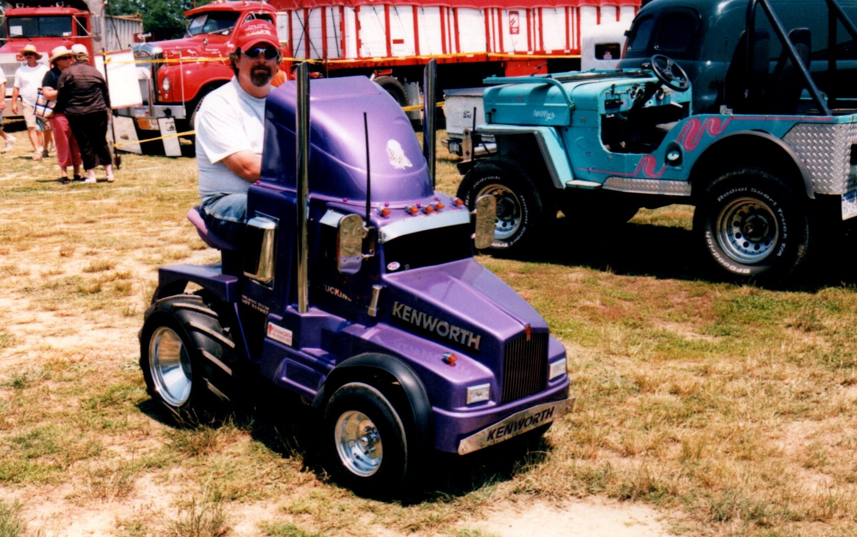 Trucks of all sizes were at the show