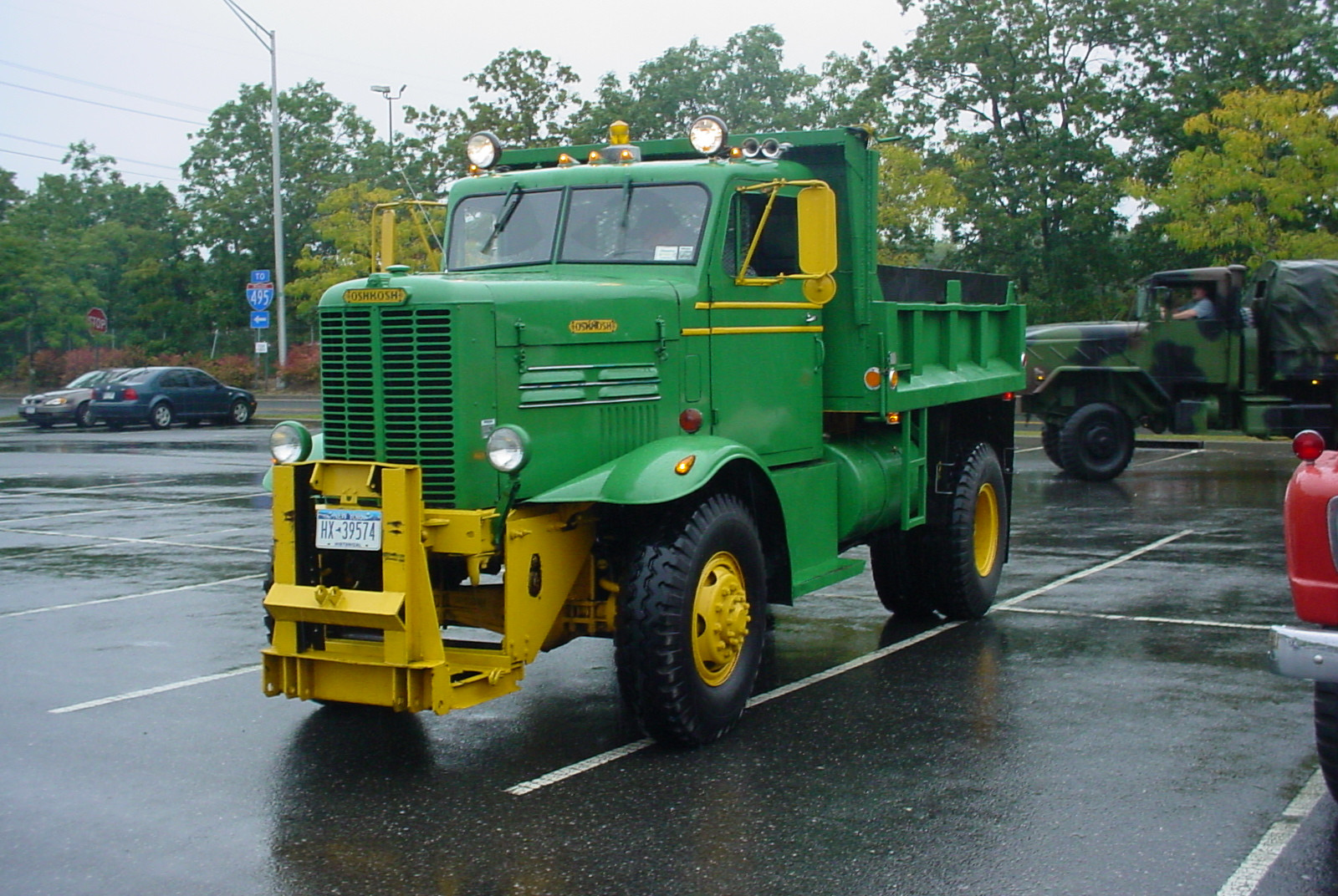 Robert Viscardi's 1957 Oshkosh dump