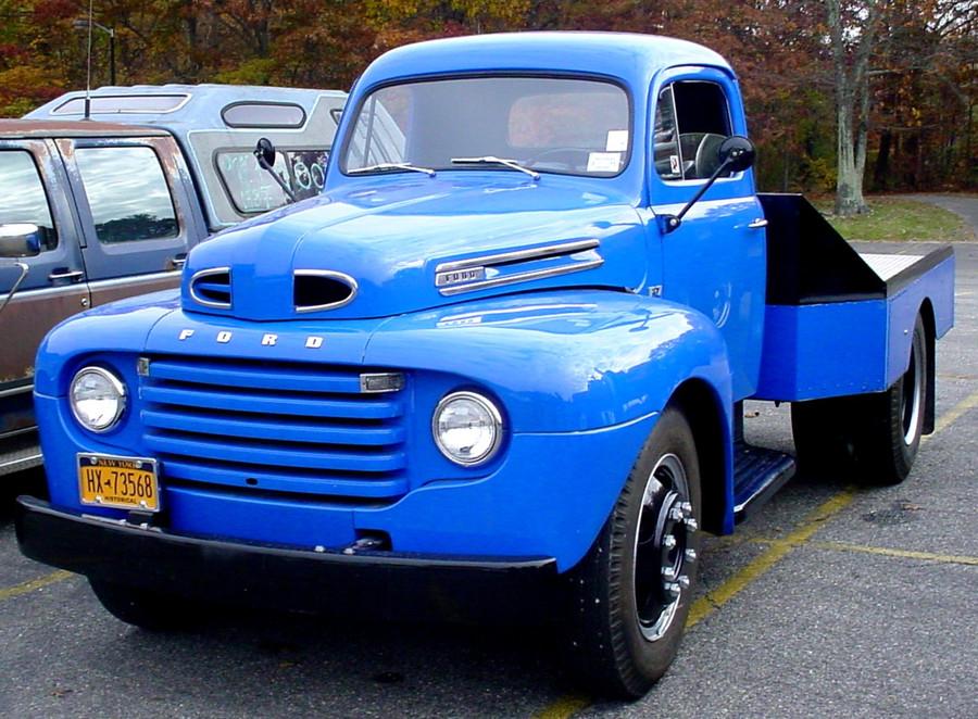 Craig Kenda's 1948 Ford flatbed
