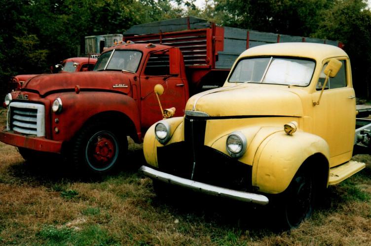Ron Bush's truck collection