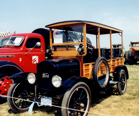 1924 Ford Model T Depot Hack - James Tavernese