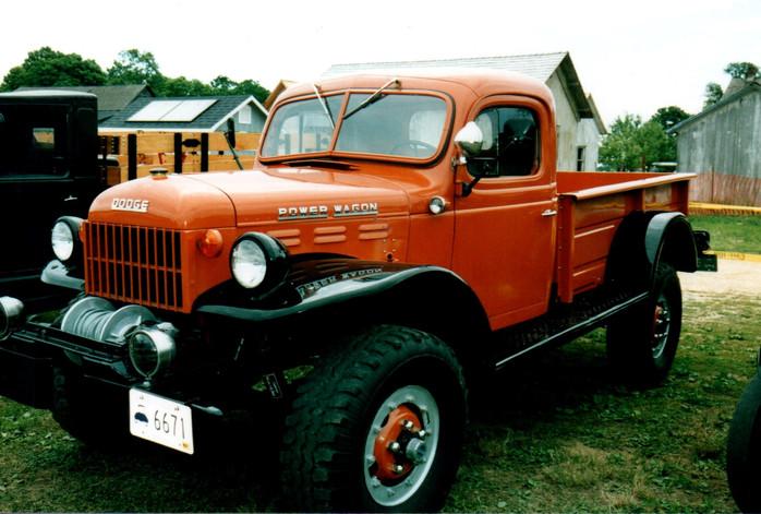 1953 Dodge Power Wagon pickup from Rhode Island