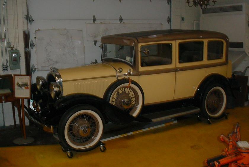 Early '30's Plymouth Sedan