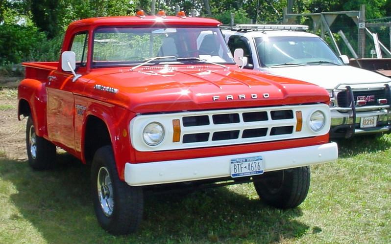 1968 Fargo (Canadian Dodge) pickup
