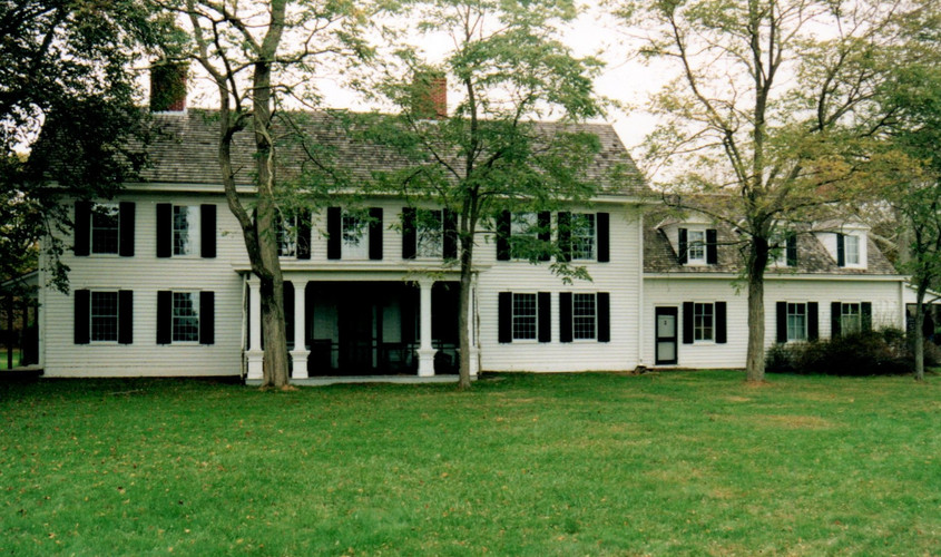 First Stop - The 1718 William Floyd Estate in Mastic Beach