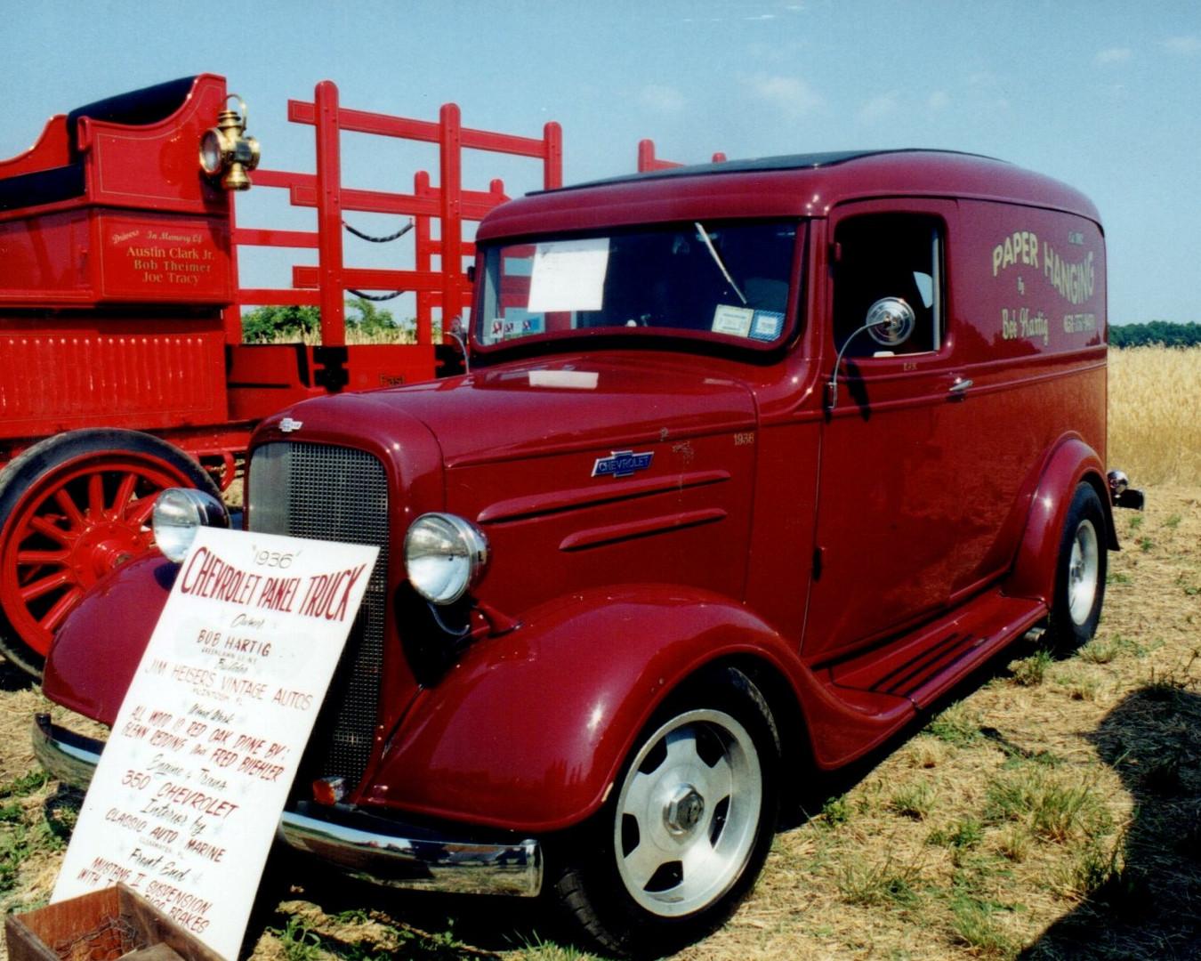1936 Chevrolet panel - Robert Hartig