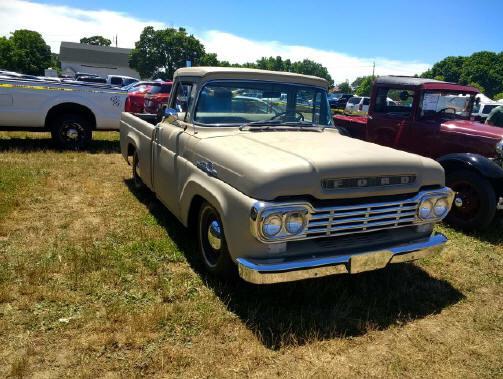 1959 Ford F-100 pickup - Theodore Haarke