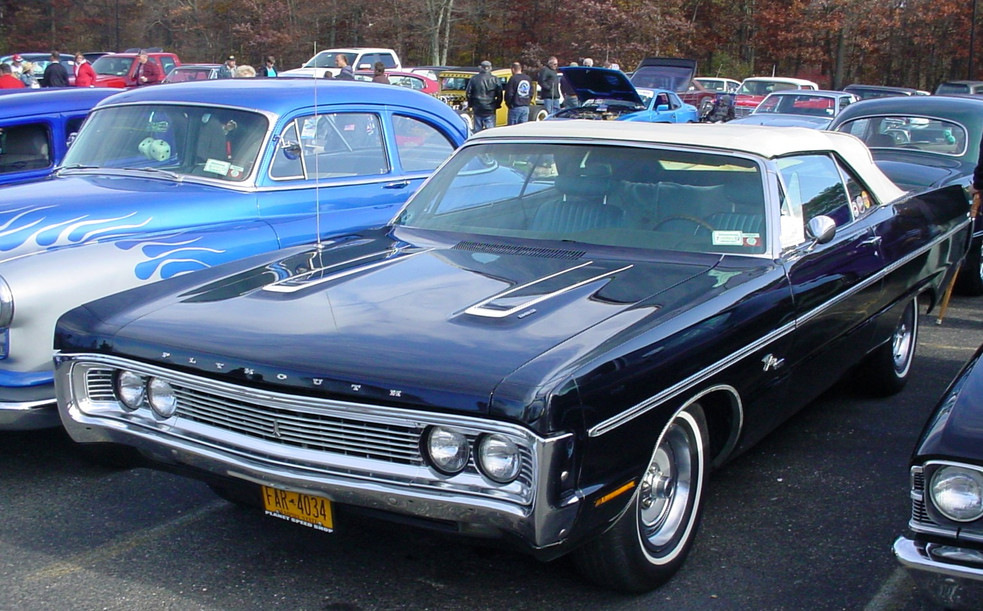 1970 Plymouth Fury convertible