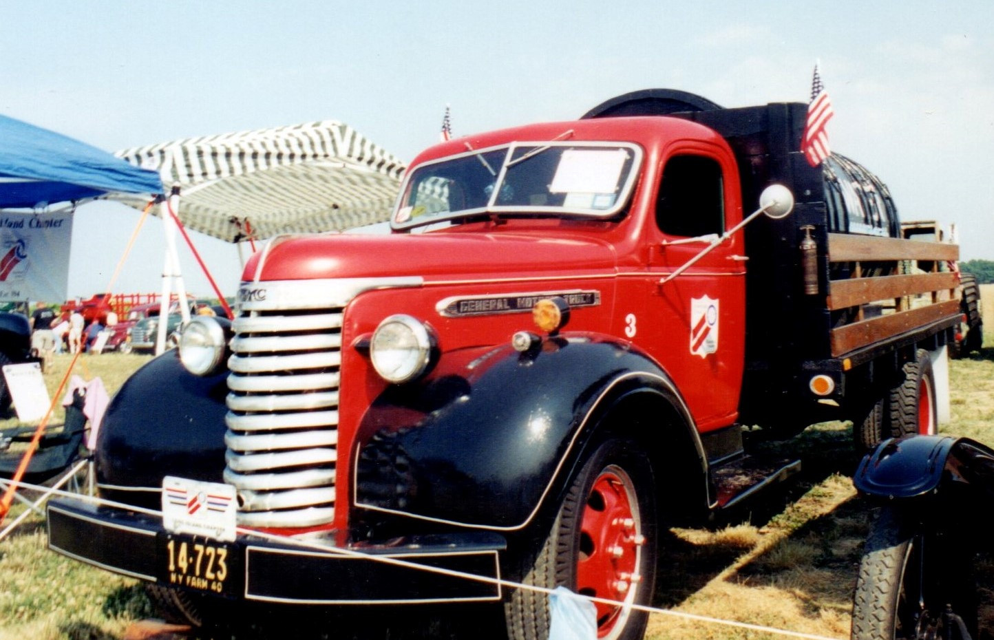 1940 GMC AC354 water wagon - Denis Ryan