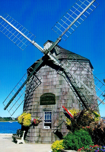 Old windmill in Sag Harbor