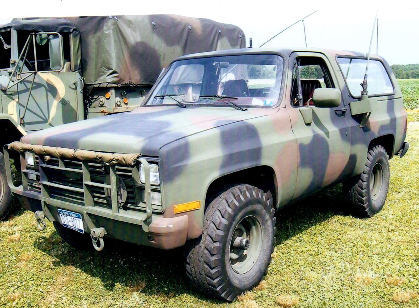 1985 Chevrolet Military Blazer - Fred Silver-Smith