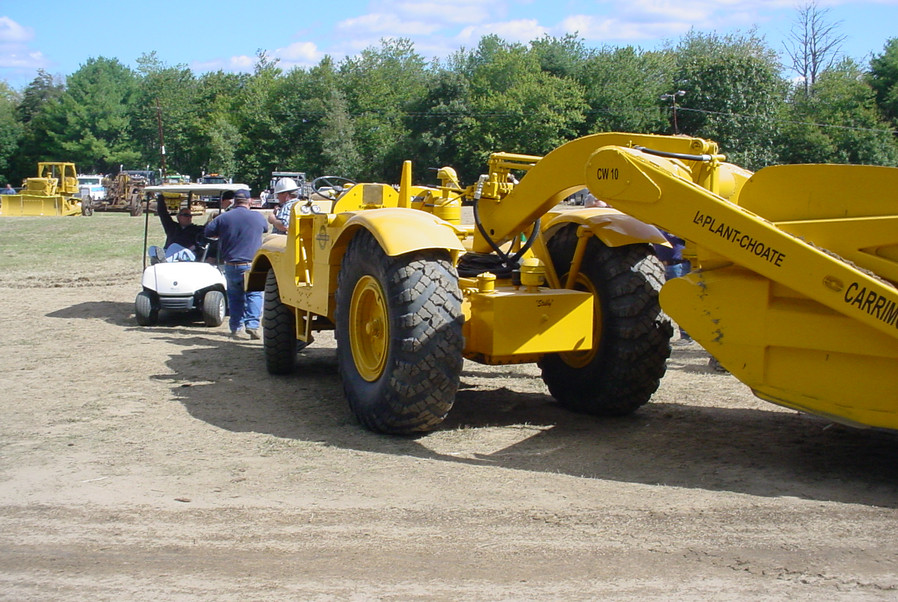 LaPlant-Choate scraper tractor