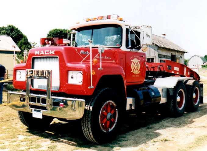 1975 Mack R model tractor - East Hampton F.D.