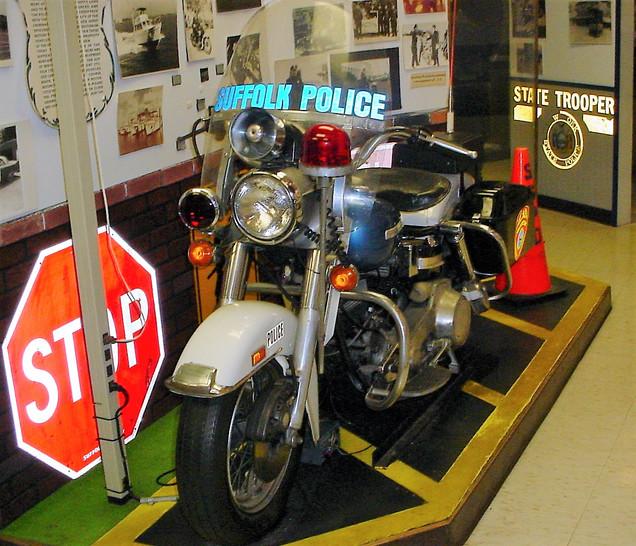 Harley Davidson police motorcycle