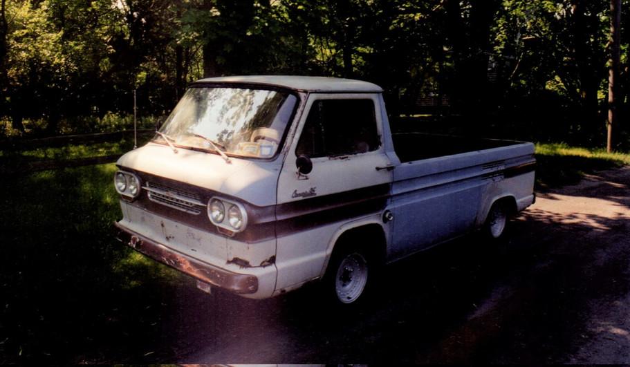 Gregg Klewicki's 1964 Corvair pickup