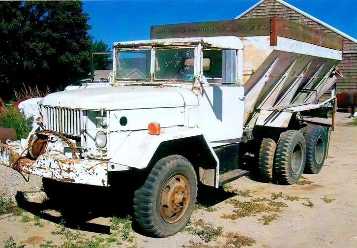 1967 Kaiser potato truck ready for work