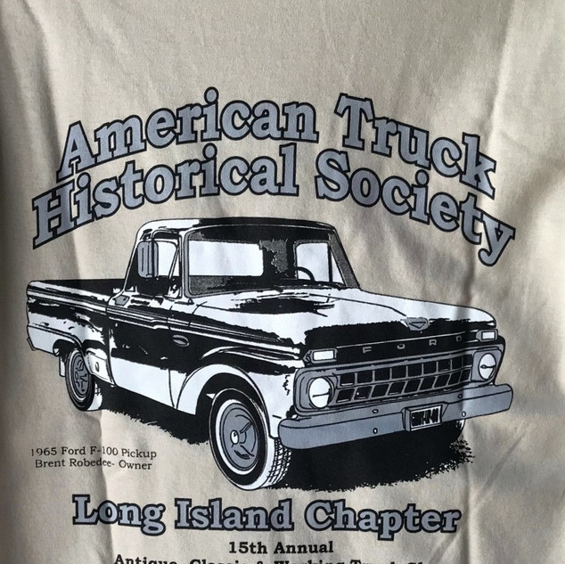 2016 Chapter Truck Show T-shirt (rear) Remaining Adult Sizes - 3-Small & 3-Medium - $5.00ea.