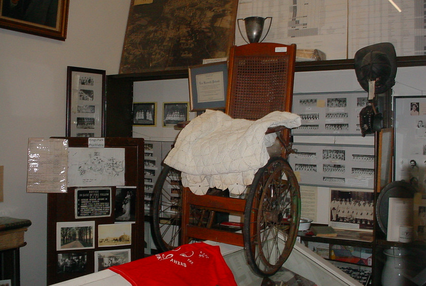 Early 1900's Wheelchair