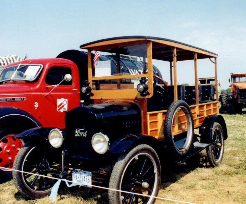 1924 Ford Model T Depot Hack -James Tavernese