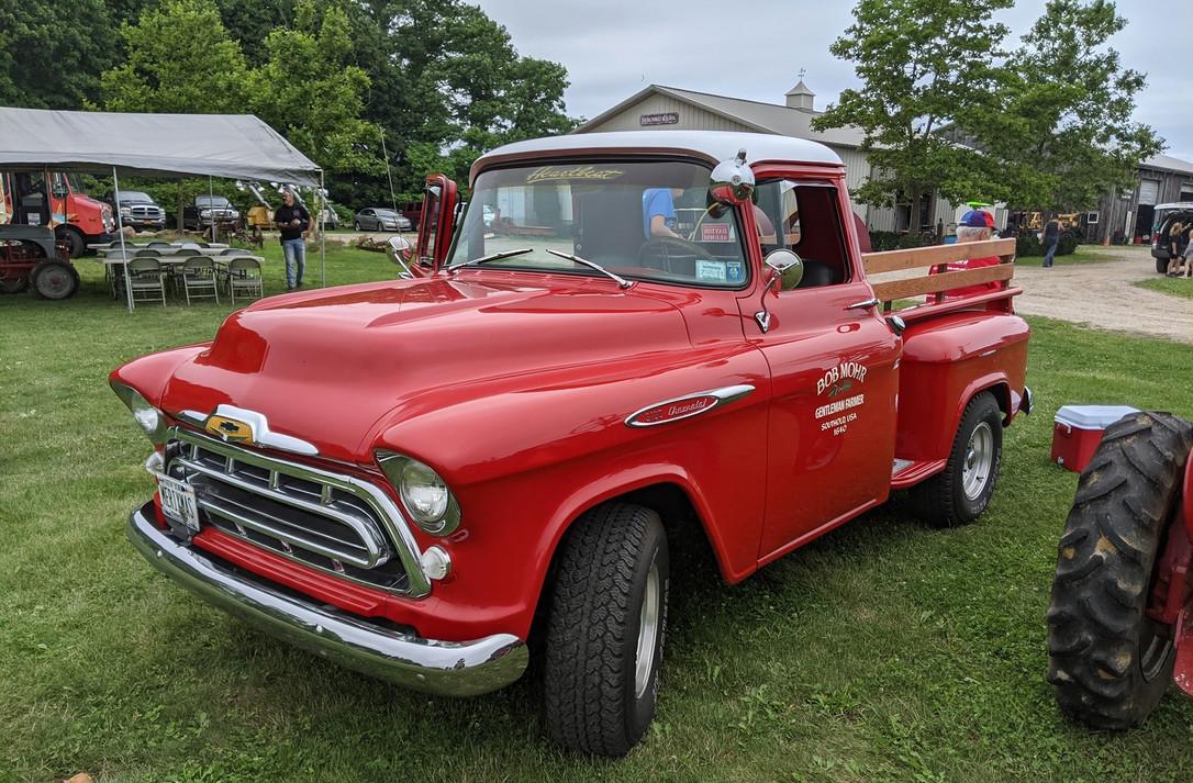 1957 Chevrolet 3100 pickup - Robert Mohr'