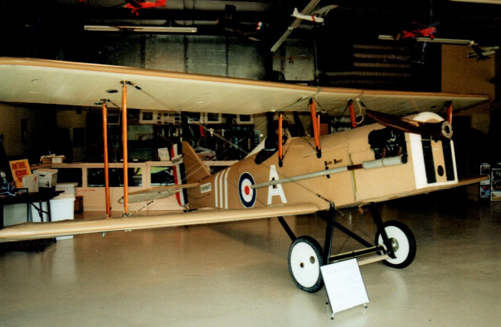 WW I airplane