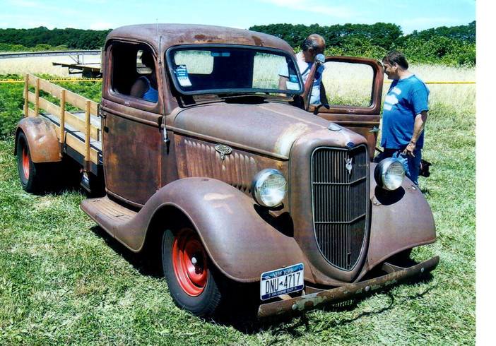 1935 Ford flatbed